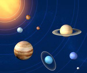 Sistema solare pianeti rapporto diametro, grandezze e dimensioni
